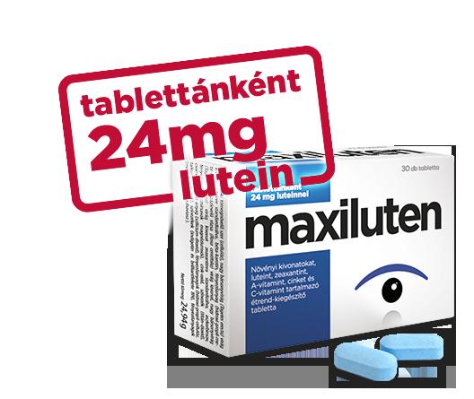 vitaminok a látás fenntartására felnőtteknél)